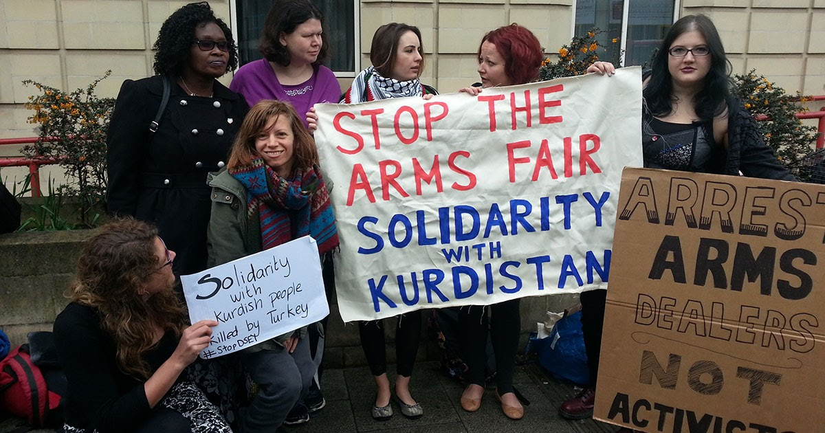 Statement condemning the international arms fair in London