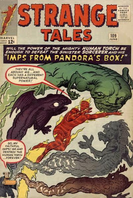 Strange Tales #109, Human Torch and Pandora's Box