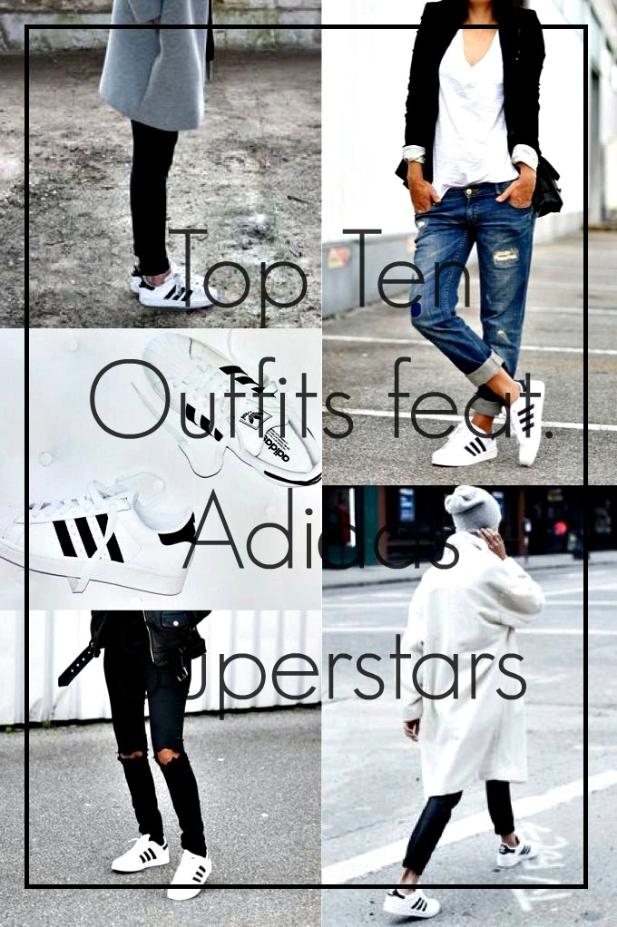 top ten outfits with adidas superstars on whatlaliloves