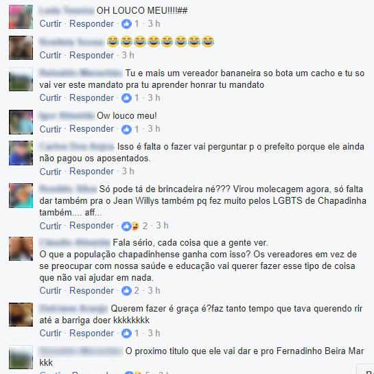 Reações à proposta de conceder título de cidadão a Lula (3)