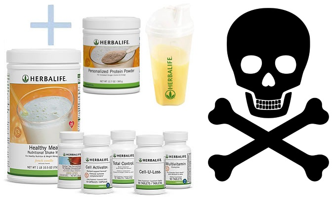 Herbalife Side Effects Herbalife Vs Liver Damage