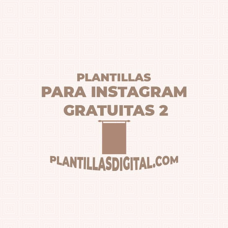 plantillas para instagram gratuitas 2
