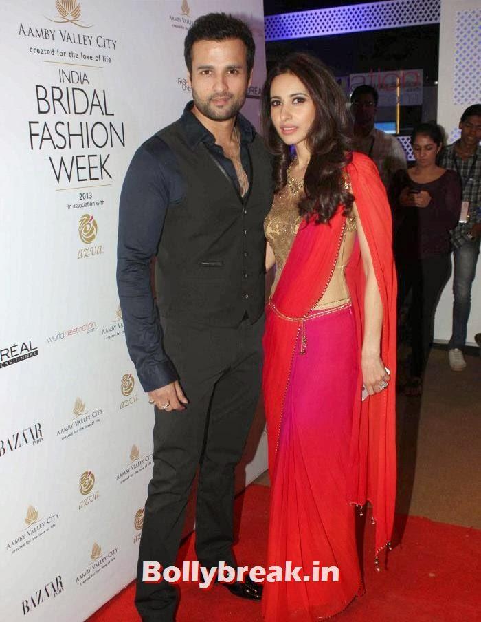 Rohit Roy, Mandira Wirk, Hot Celebs at India Bridal Fashion Week 2013