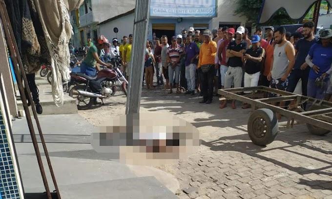 Trabalhador morre eletrocutado no centro de Capim Grosso