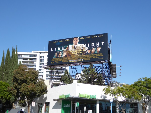 Live by Night billboard