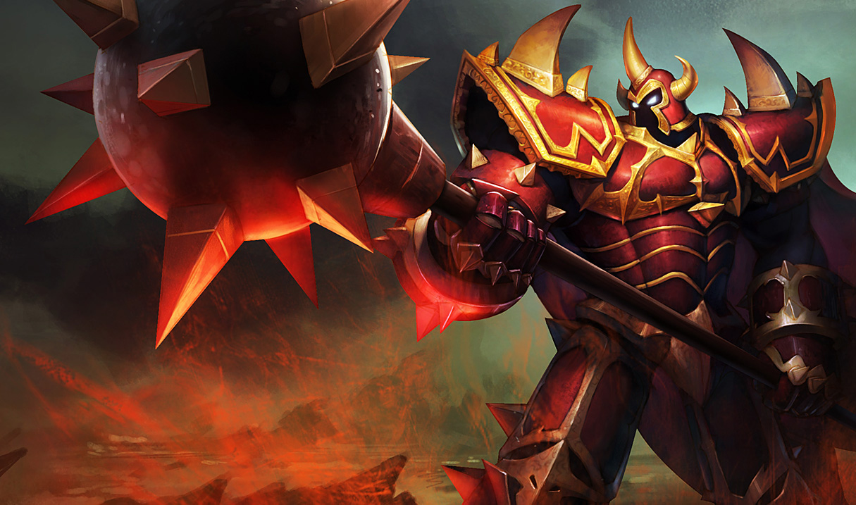 Chinese Dragon Knight Mordekaiser