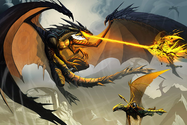 fight the dragon gold