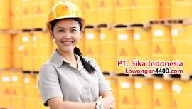 Lowongan Kerja Operator Produksi PT. Sika Indonesia Tahun 2018
