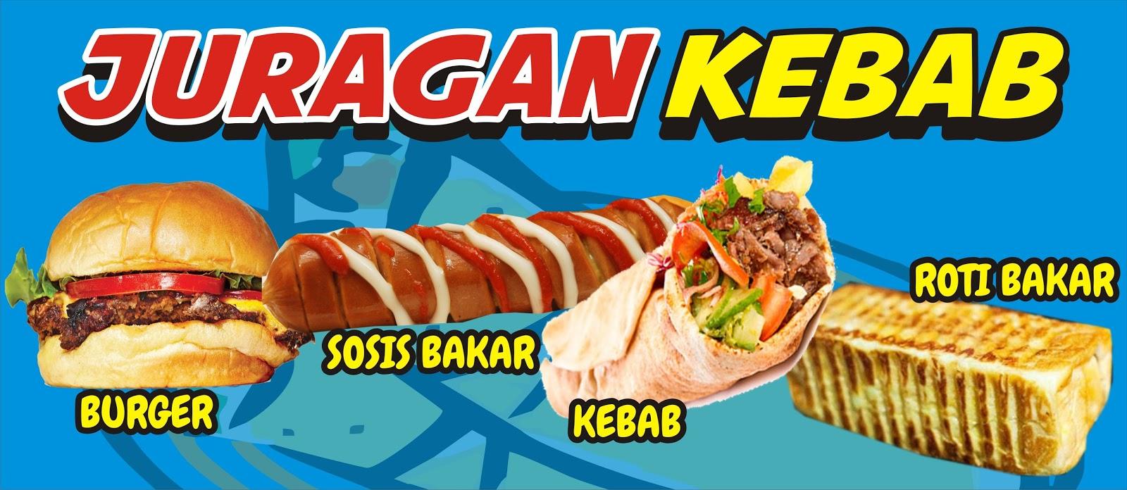 Download Contoh Desain Spanduk Kebab Keren Banget Format