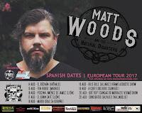 Conciertos de Matt Woods en España en 2017