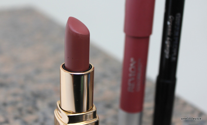 one little vice beauty blog: dark nude lipstick for autumn