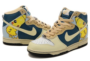buy online 9cf99 e2f0d nike dunk pokemon pikachu shoes for sale