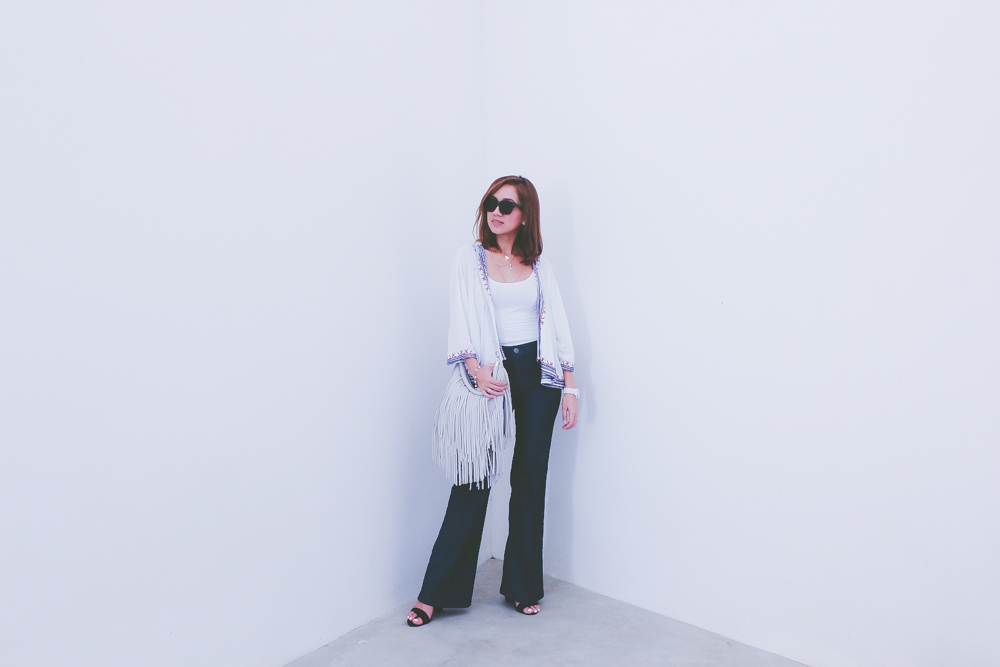 Cebu Fashion Bloggers, Cebu Bloggers, Cebu Street Style, Philippine Street Style, Seventies Inspired, That 70s Flare, Flared Pants, Flare Jeans, Flares, Flared Jeans, Cebu Fashion Blogger, Fringe, How to wear Flare pants, Asian Blogger, Philippine Blogger, Toni Pino-Oca