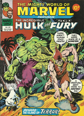 Mighty World of Marvel #291, The Incredible Hulk
