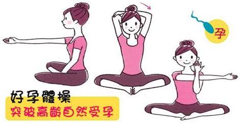 想懷孕運動,好孕體操