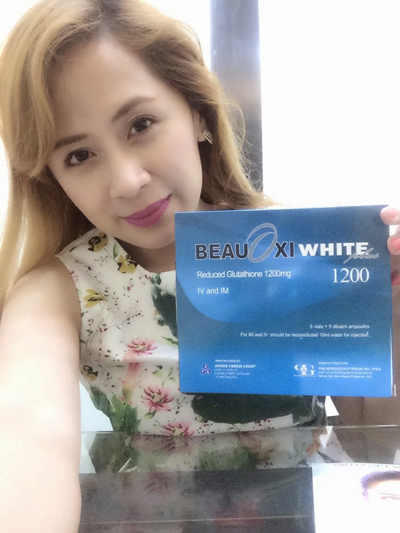PRODUCT REVIEW: BEAUOXIWHITE PLUS 1200mg GLUTATHIONE