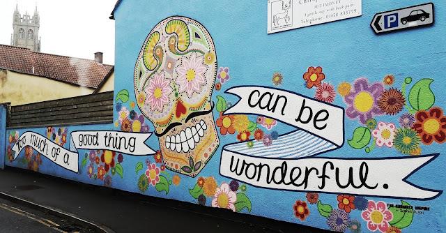 Project 366 day 366 - Glastonbury Steet Art // 76sunflowers