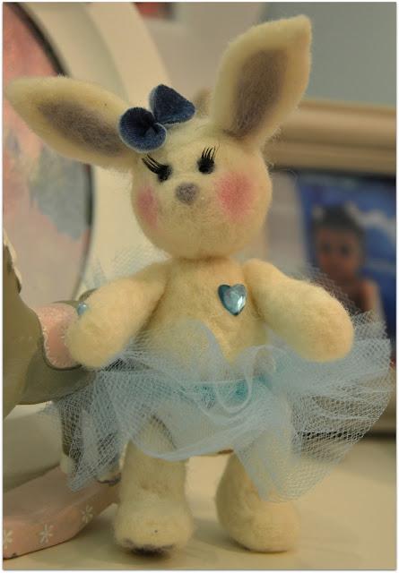 Filcowy Bunny