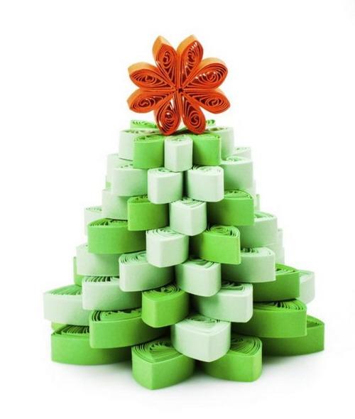 El mundo del reciclaje arbol de navidad con material - Como hacer cosas para navidad ...