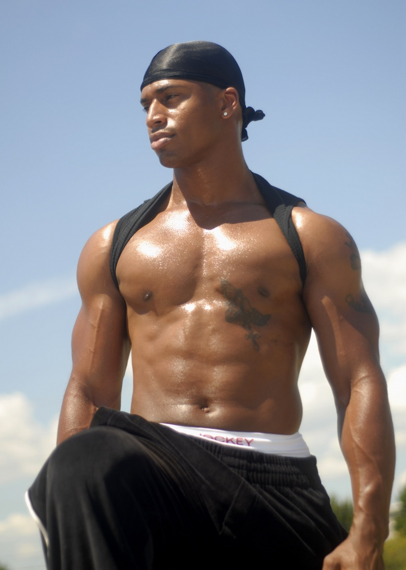 Hot Black Men Jamal-2654
