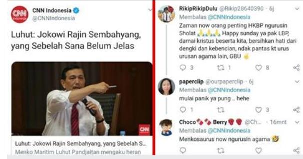 Kepanikan Luhut Menteri Non-Muslim Sampe Loncat Pagar Urusin Ibadah Umat Islam?