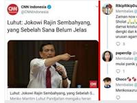 Kepanikan Luhut! Menteri Non-Muslim Sampe Loncat Pagar Urusin Ibadah Umat Islam?
