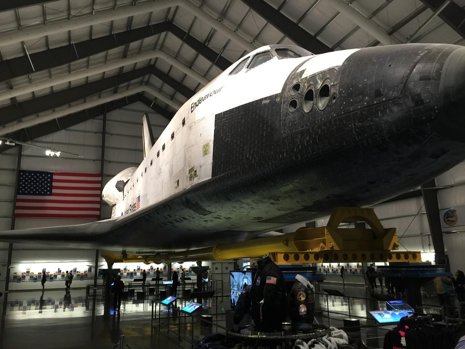 space shuttle endeavour california science center - photo #22