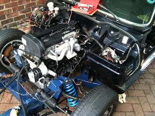 Spitfire Engine Swap Golfclub
