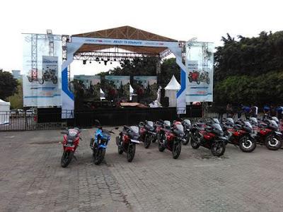 Suzuki GSX-R150 di Rilis Bekasi dan Surabaya