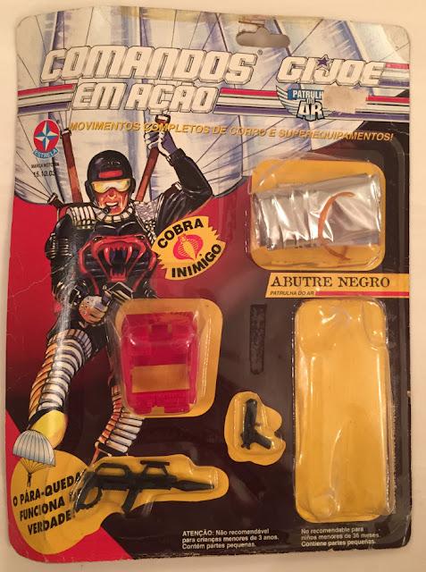 Abutre Negro, Patrulha do Ar, Cobra Black Vulture, Sky Patrol, Brazil, Estrela, Comandos em Acao, G.I. Joe
