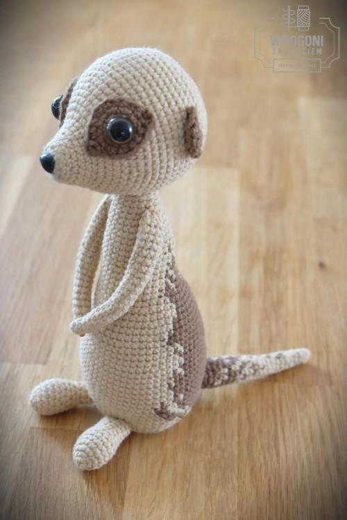 Beautiful Skills Crochet Knitting Quilting Meerkat