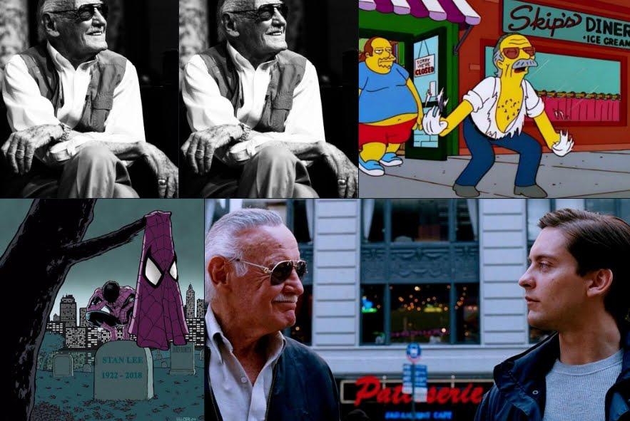 Foto Stan Lee, il padre dei supereroi a fumetti Marvel.