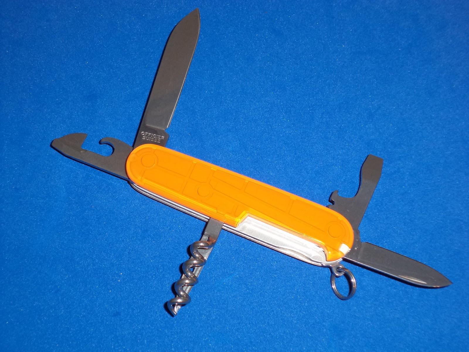 I Love Sak S Victorinox Translucent Orange Spartan