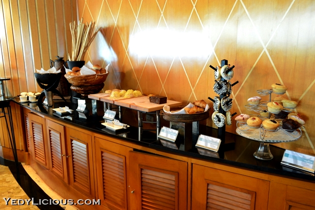 Bread Choices at Breakfast Buffet of Pan Pacific Manila