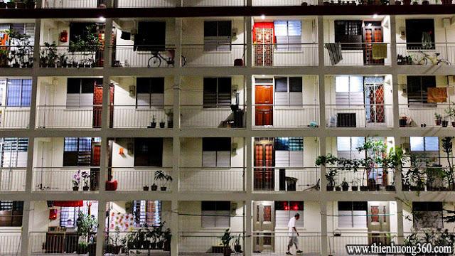 Hơn 80% công dân Singapore đang sinh sống tại nhữngkhu nhà ở xã hội HDB, nhờ gói vay được hỗ trợ lên tới 90% từ Chính Phủ