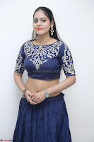 Ruchi Pandey in Blue Embrodiery Choli ghagra at Idem Deyyam music launch ~ Celebrities Exclusive Galleries 074.JPG