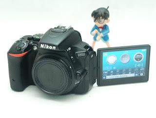 Jual Nikon D5500 Body Second
