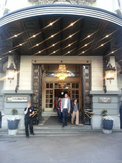 Puerta del Hotel Westin Palace evento verema Madrid