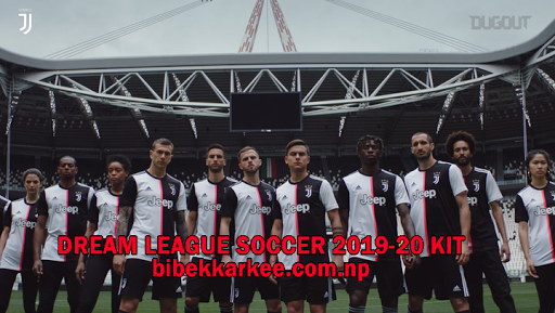 Juventus 2019-2020 Dream League Soccer Kit and Logo