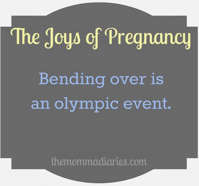 the joys of pregnancy
