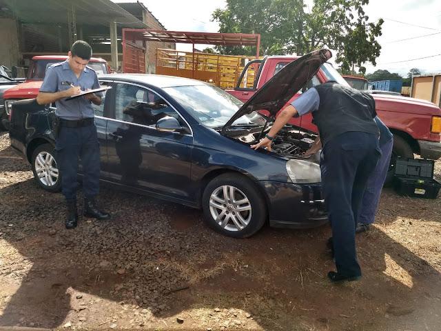 Posadas Dirección Verificación Automotores: incautaron un vehículo con pedido de secuestro