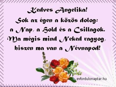 Január 27 - Angelika névnap