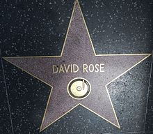 David Rose and his music