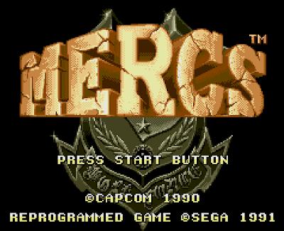 【MD】戰場之狼(Mercs)原版+無限炸彈、接關Hack加強版!