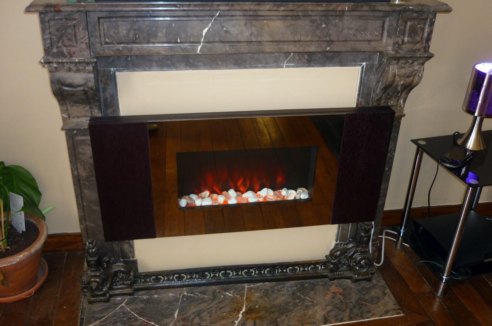 fausse flamme cheminée