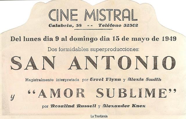 Programa de Cine - San Antonio
