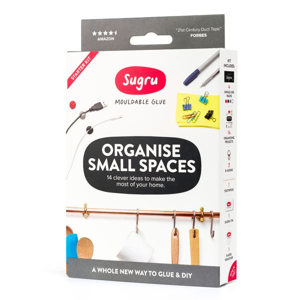 Sugru Organise Small Spaces Kit