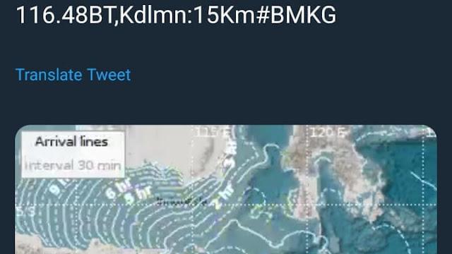 Gempa NTB, Warga Kirim Voice Mail Minta Pertolongan