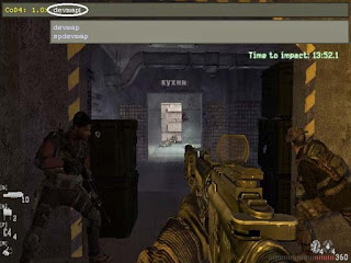 cara cheat call of duty 4 modern warfare