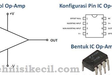 Pengertian Op-AMP yaitu (operational amplifier)